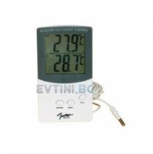 Термометър с LCD дисплей с външен датчик Model-TA338