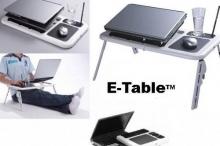 Мултифункционална маса за лаптоп, USB, с 2 охладителя