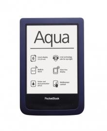 Електронна книга PocketBook 640 Aqua - Тъмносиня