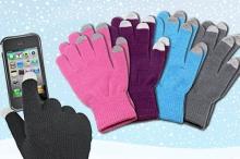 Топли ръкавици с тъчскрийн функция