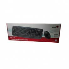 Комплект GENIUS KM-130, USB, клавиатура + мишка