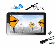 4G 5в1 таблет с GPS навигация, Android DIVA 7″, SIM, Quad Core, 24GB, ТВ, 2 програми