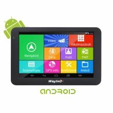 GPS навигация с Андроид за камиони WayteQ x995 Android, WIFI, 24GB, 2 програми