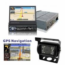 Навигация за вграждане за камион единичен дин AT179601 MP5, GPS, Bluetooth, 7 инча