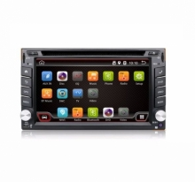 Универсална мултимедия двоен дин AT UA62DVD GPS, WiFi, Android 4.4, 6.2 инча