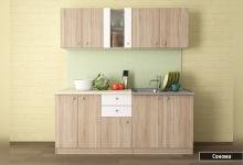 Стилна блок-кухня Мареа 1