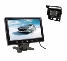 Комплект камера за камион за задно виждане + 10.1 инчов монитор с 2 видео входа