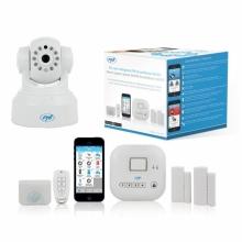 Комплект аларма и видеонаблюдение с безжична връзка PNI SmartHome SM400 + камера SM460