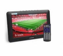 Цифров  мултимедиен портативен телевизор с  тунер DVB-T2 LEADSTAR D9 9 инча