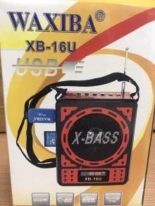 Преносимо мини FM радио, SD, USB Waxiba - батерия и 220v