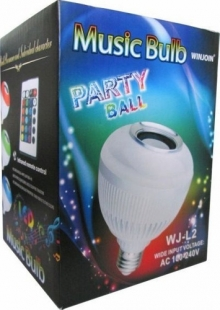 Парти лед крушка с Bluetooth
