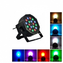 Диско прожектор с 18 цветни диода